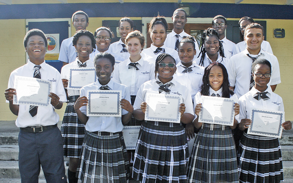 Honor Roll, First Quarter, 15-16 school year